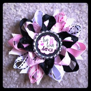 Other - *3 FOR $15* Ballet Ballerina Loopy Bow